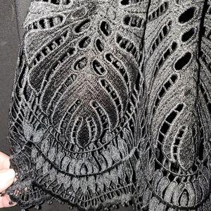 Tahari Dresses - Tahari Sheath Dress with Matching Lace Long Cover